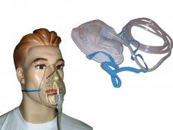 O2-Inhalationsmaske / Sauerstoffmaske 2,1m